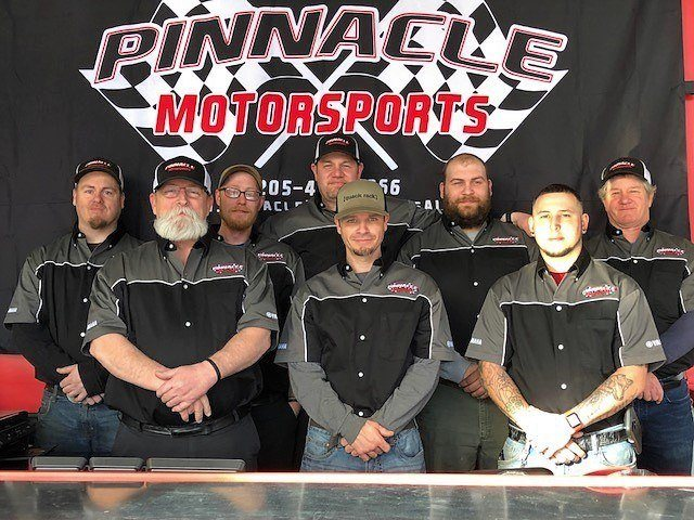Service Team at Pinnacle Motorsports located in Bessemer, AL