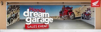 HONDA BANNER AD DREAM GARAGE